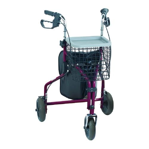andador con 3 ruedas