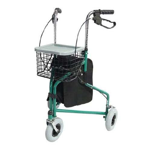 andador con tres ruedas ligero