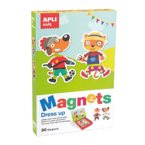 juego vestir magnético