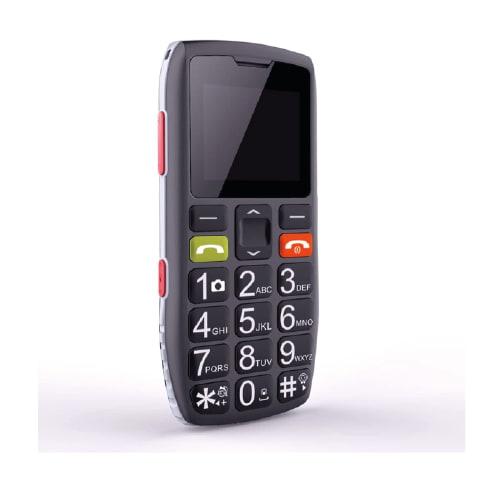móvil con botón SOS