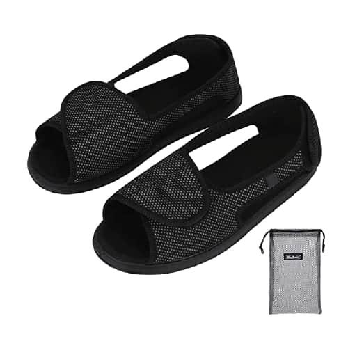zapatillas ortopédicas abiertas